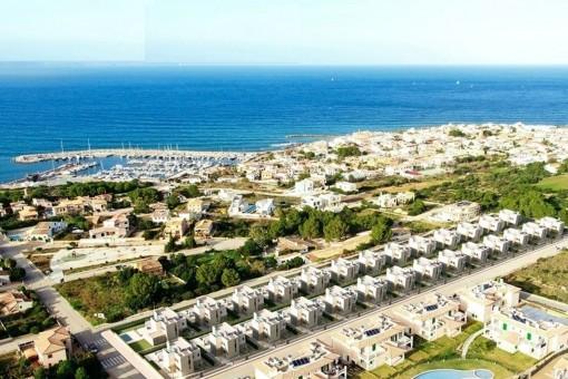 Vista de la urbanizatión
