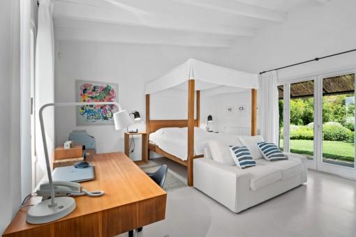 Uno de los 5 dormitorios