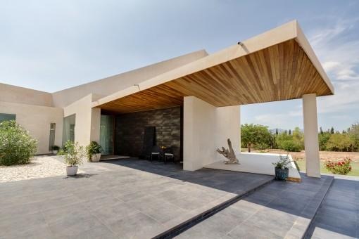 Finca de deseño elegante con piscina en Marratxí