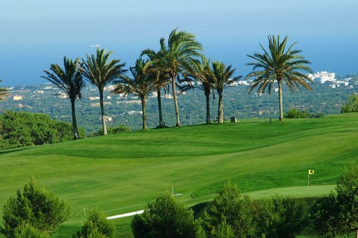 Campo de golf pintoresco