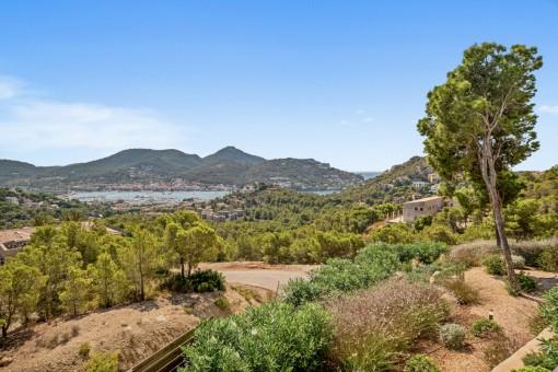 Magníficas vistas a Port Andratx