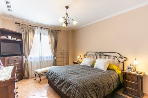 Hermoso dormitorio principal