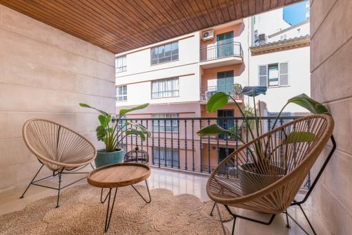 Extraordinario apartamento elegantemente reformado en el centro de Palma