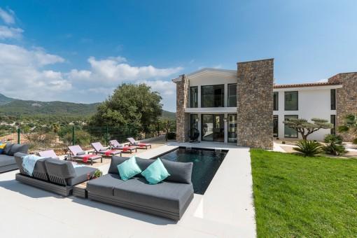 Villa en Capdella