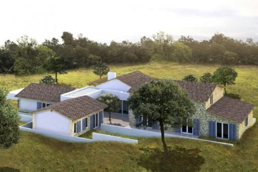 Fantástico proyecto de nueva construcción en una ubicación exclusiva y tranquila - finalización a finales de 2020