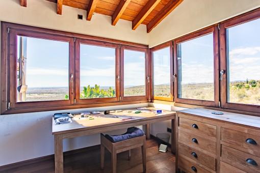 Habitación con vistas lejanas