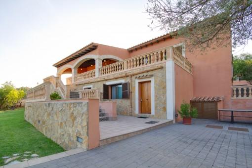 Gran villa con licencia vacacional y preciosas vistas panorámicas en Bunyola