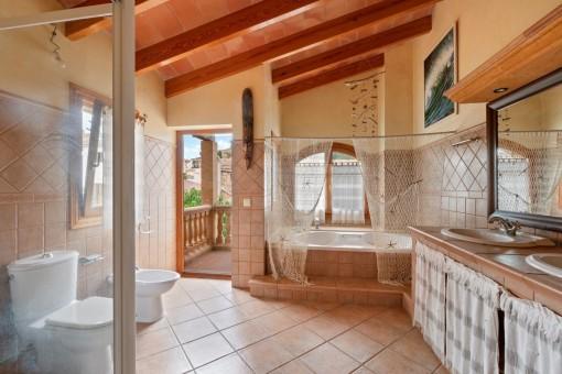 Baño acogedor