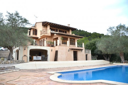 Villa en Puigpunyent