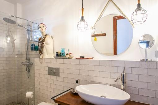 Segundo baño moderno