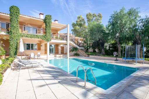 Maravillosa zona de piscina