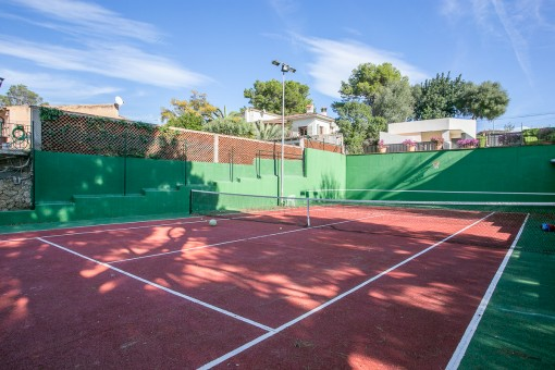 Propria pista de tenis