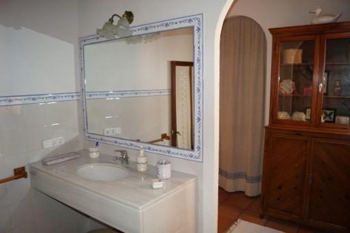 Vista alternativa al baño