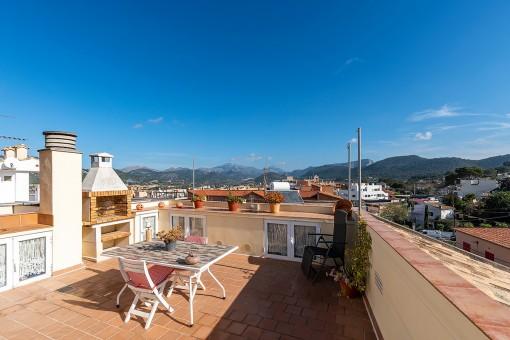 Encantador apartamento con terraza en Port Andratx