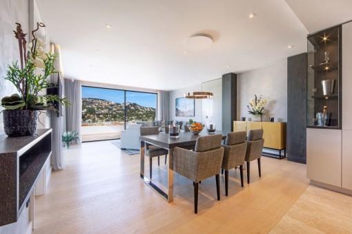 Nuevo penthouse con equipamiento lujoso en Port Andratx