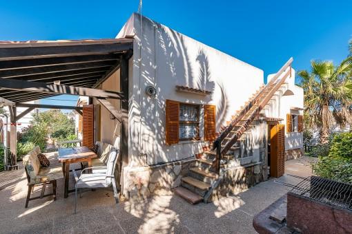 Villa en Cala Santanyi para vender