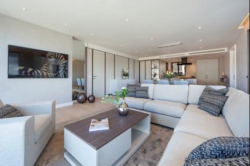 Chalet con apartamentos ultra moderno en Port d'Andratx