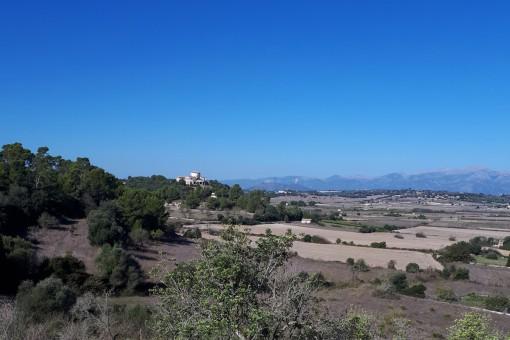 Vistas hacia Santa Margalida