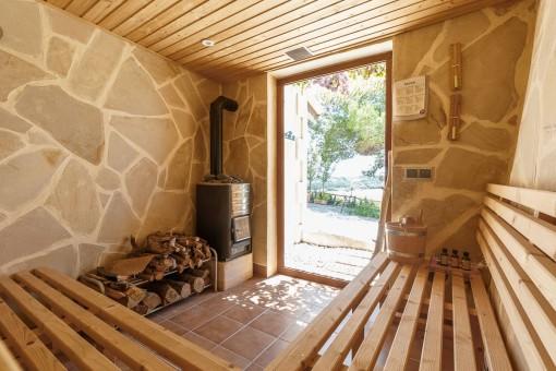 Sauna privada