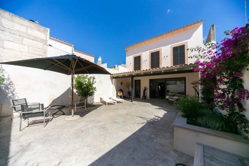 Maravillosa casa reformada con terraza grande de San Lorenzo