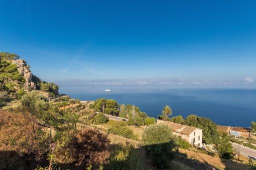 Vista sobre la costa