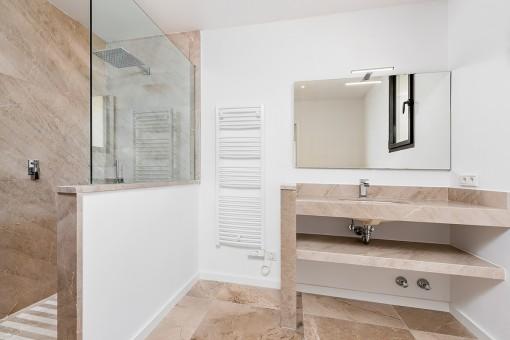 Uno de 4 baños
