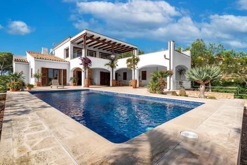 Villa en Cala Santanyi