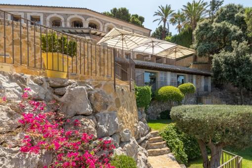 Jardín romántico De la Villa