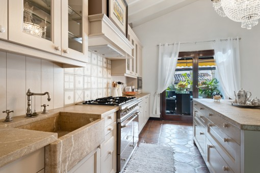Vista alternativa al la cocina