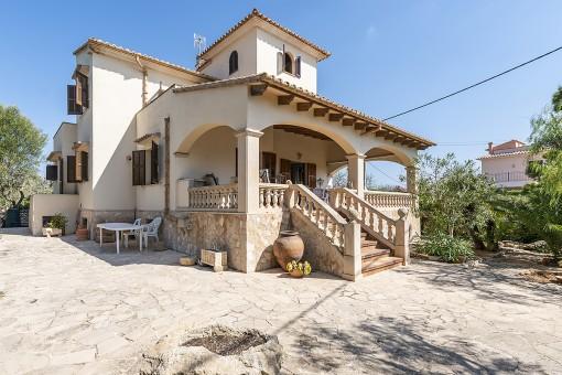 Chalet en una ubicación privilegiada de Sa Torre Nova con terreno contiguo cerca de la playa