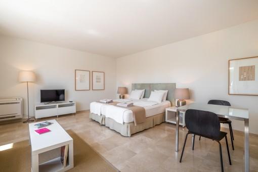 Espacioso apartamento de huéspedes