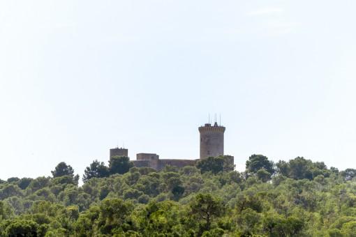 Vistas al Castell Bellver