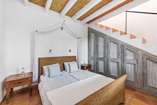 Dormitorio del apartamento Tulipan Hiedra