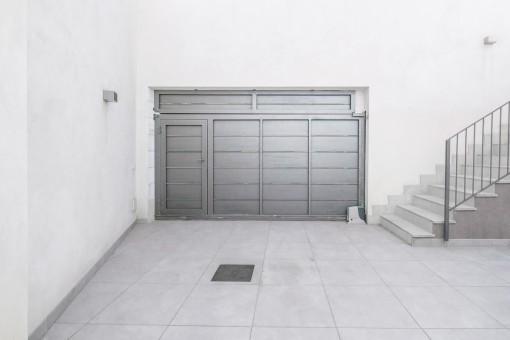 Garage de la villa