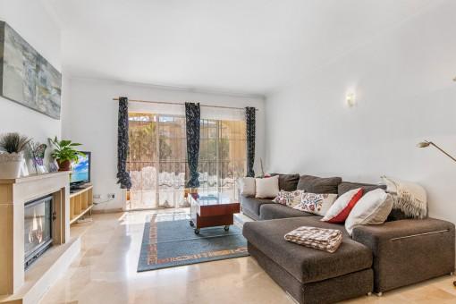 Apartamento muy bonito en un complejo bien cuidado cerca del Puig de Ros