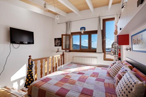 Otro dormitorio con terraza