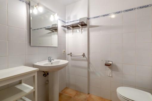 Vista al baño