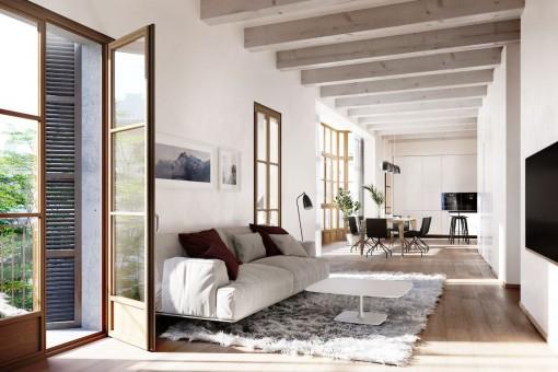 Gran apartamento de nueva construcción en Palma