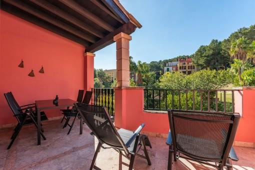 Vista alternativa al balcón