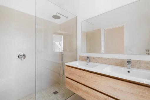 Uno de 3 baños