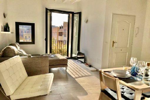 Apartamento amueblado en ubicación céntrica en el casco antiguo de Palma