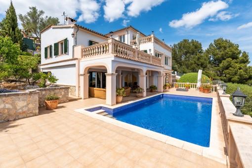 Villa en Son Font