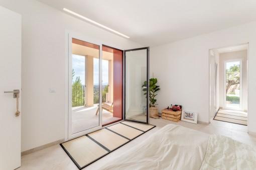 Dormitorio doble espaciso