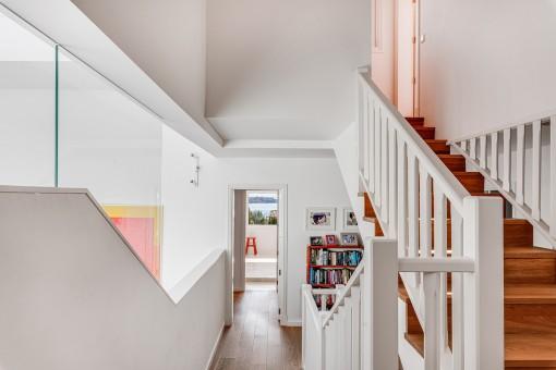 Escaleras superior
