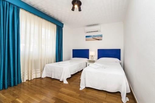 Dormitorio rústico