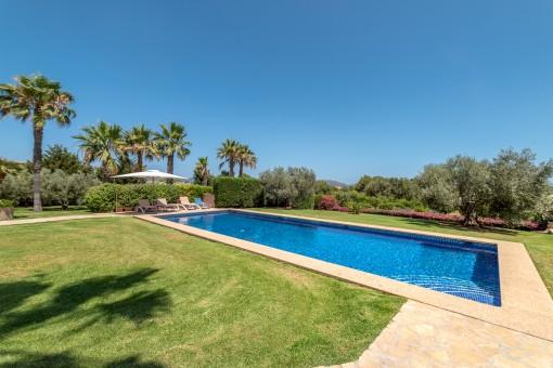 Jardín mediterráneo