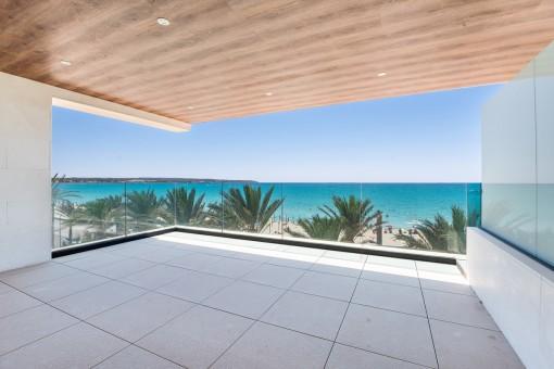 Lujoso ático en primera línea de Playa de Palma