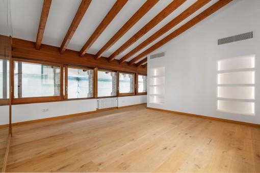 Salón moderno del apartamento