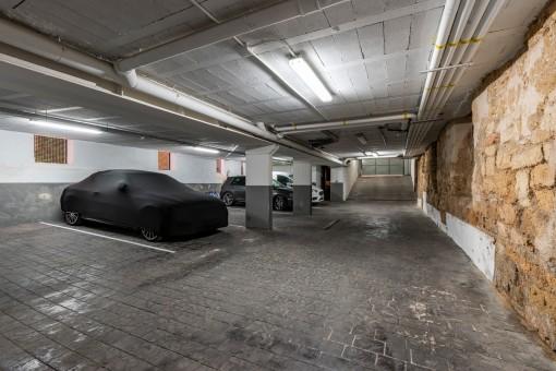 Garaje grande