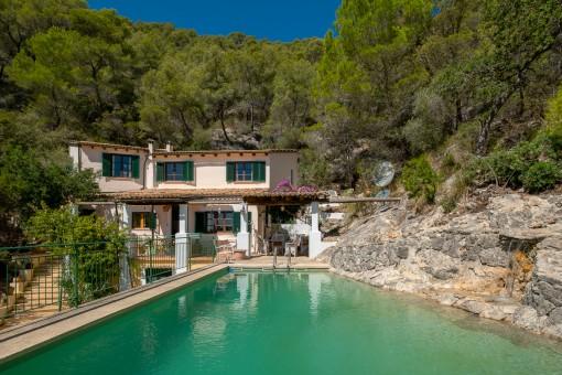 Finca romántica en lugar solitario con fantásticas vistas cerca de Alaró